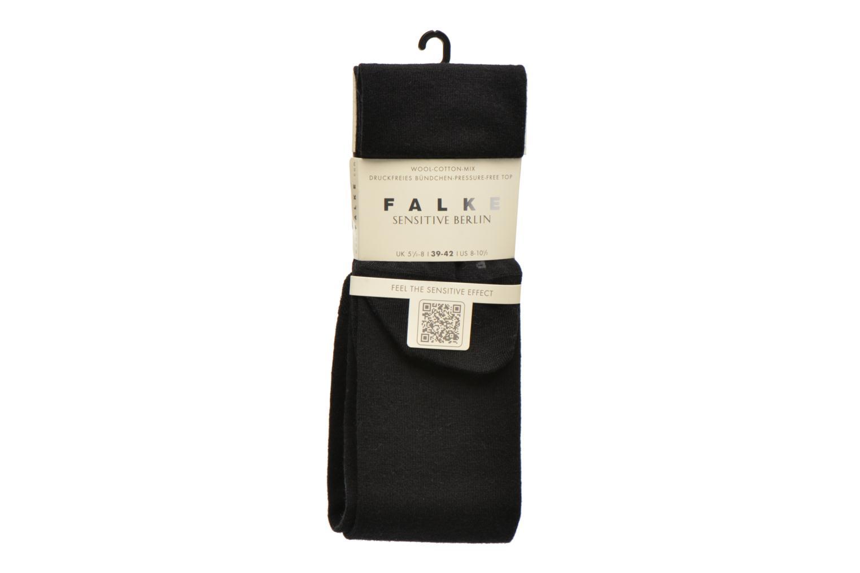 Chaussettes et collants Falke Chaussettes hautes Berlin Sensitive Noir vue détail/paire