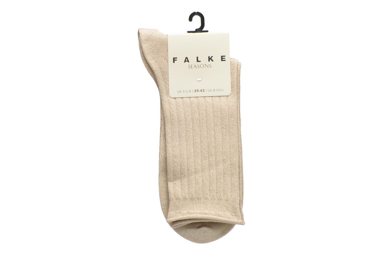Chaussettes et collants Falke Chaussettes Free Time Beige vue derrière