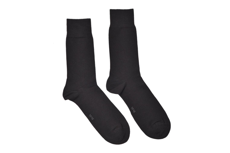 Chaussettes et collants Burlington Chaussettes E.day Pack de 2 Noir vue détail/paire