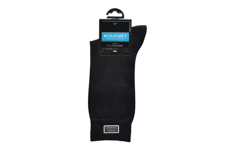 Sokken en panty's BLEUFORÊT Chaussettes 100% Fil d'Ecosse Blauw achterkant