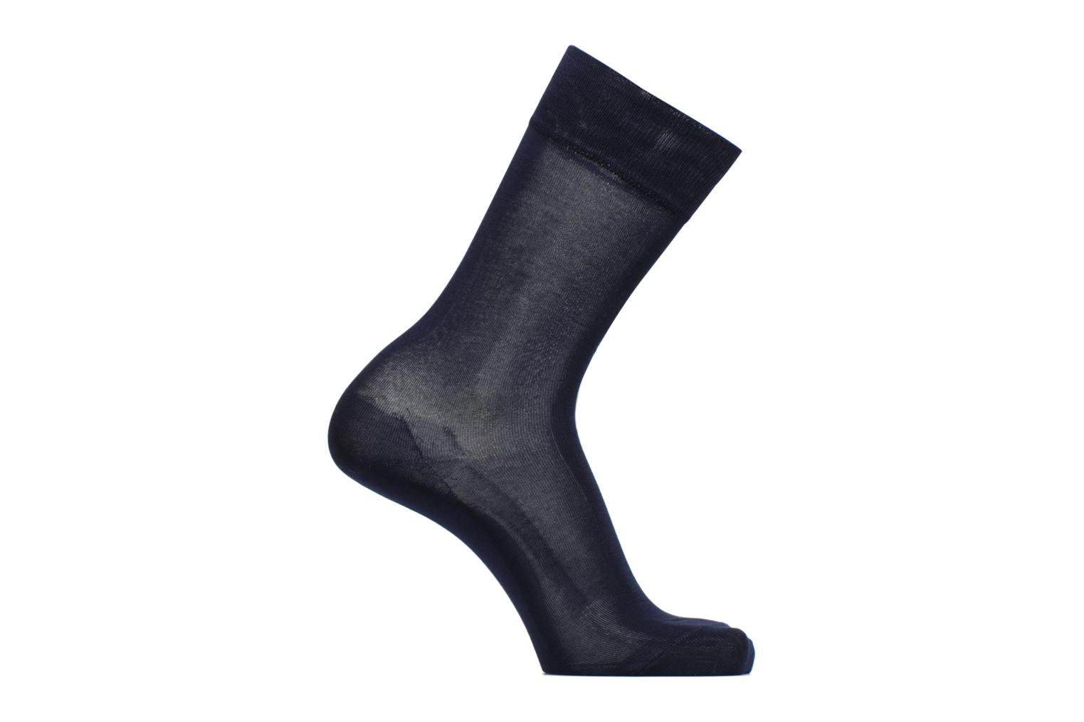 Socks & tights BLEUFORÊT Chaussettes 100% Fil d'Ecosse Blue detailed view/ Pair view