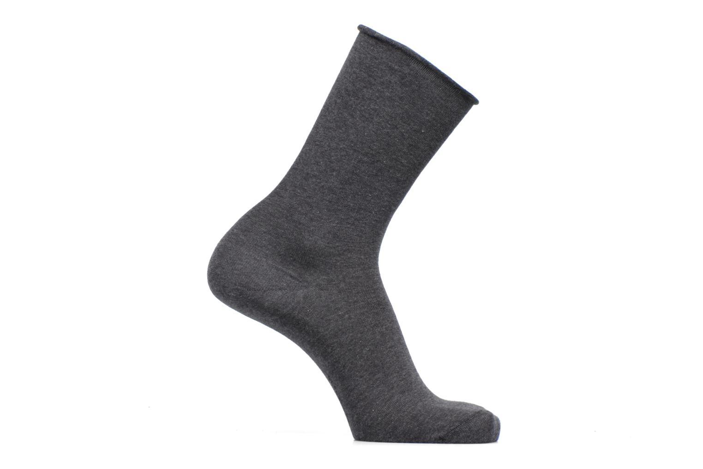 Sokken en panty's BLEUFORÊT Chaussettes Veloutées Grijs detail