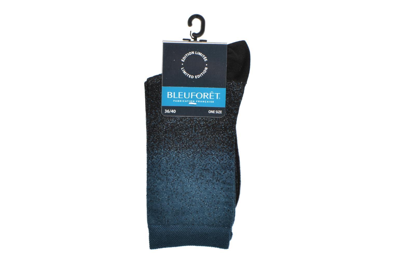 Chaussettes et collants BLEUFORÊT Chaussettes Météore Bleu vue derrière