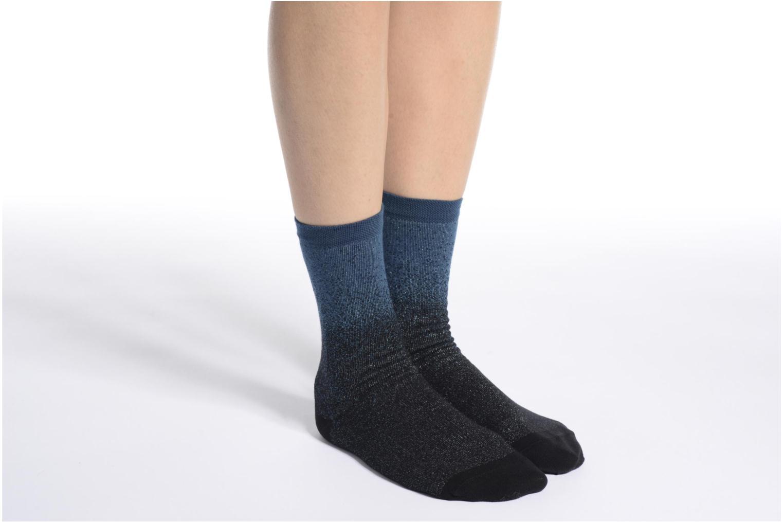 Socks & tights BLEUFORÊT Chaussettes Météore Blue view from above