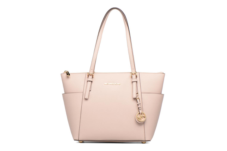 Handtaschen Michael Michael Kors JET SET ITEM EW TZ Tote rosa detaillierte ansicht/modell