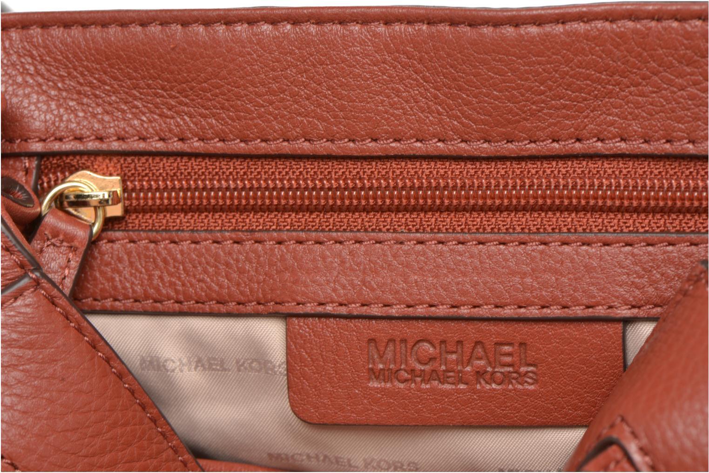 Sacs à main Michael Michael Kors ISADORE MD TH Messenger Marron vue derrière