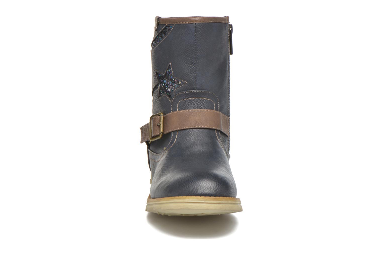 Bottes Mustang shoes Gisa Kids Bleu vue portées chaussures
