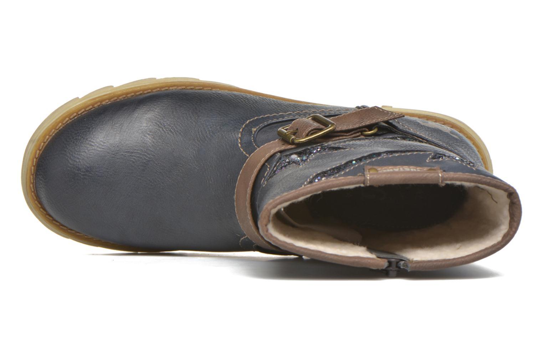 Bottes Mustang shoes Gisa Kids Bleu vue gauche