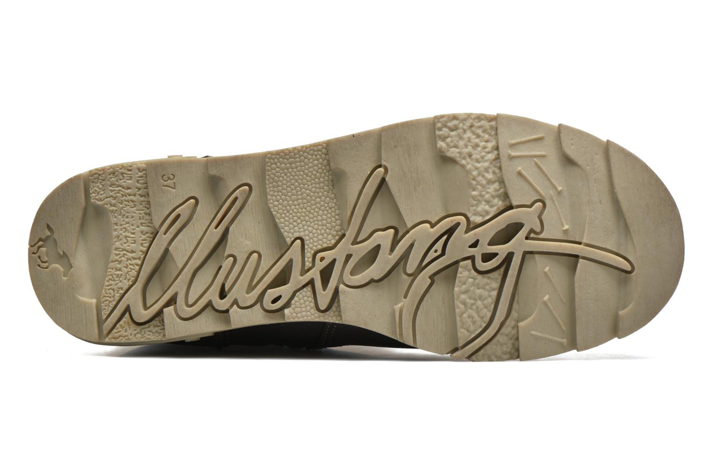 Stiefel Mustang shoes Gisa Kids grau ansicht von oben