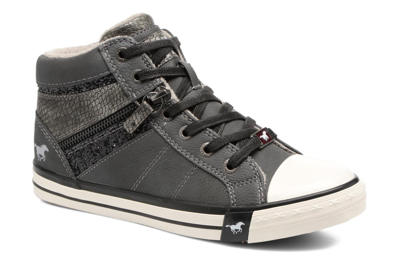 Sneaker Mustang shoes Leni grau detaillierte ansicht/modell
