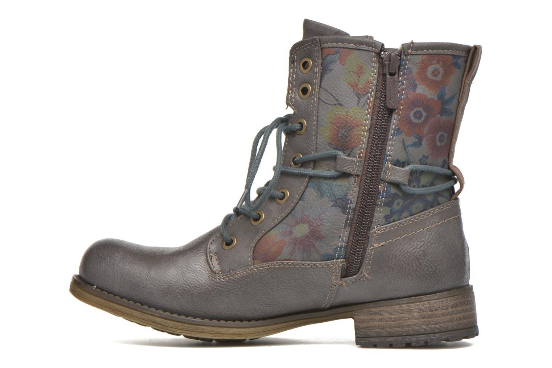 Bottines et boots Mustang shoes Krista Gris vue face