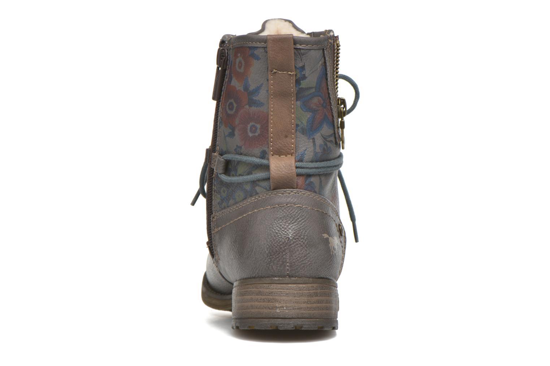 Bottines et boots Mustang shoes Krista Gris vue droite