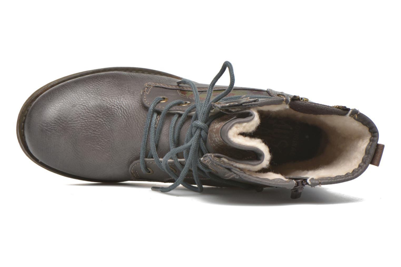 Bottines et boots Mustang shoes Krista Gris vue gauche