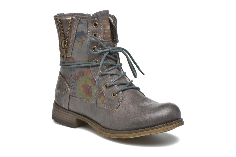 Bottines et boots Mustang shoes Krista Gris vue détail/paire