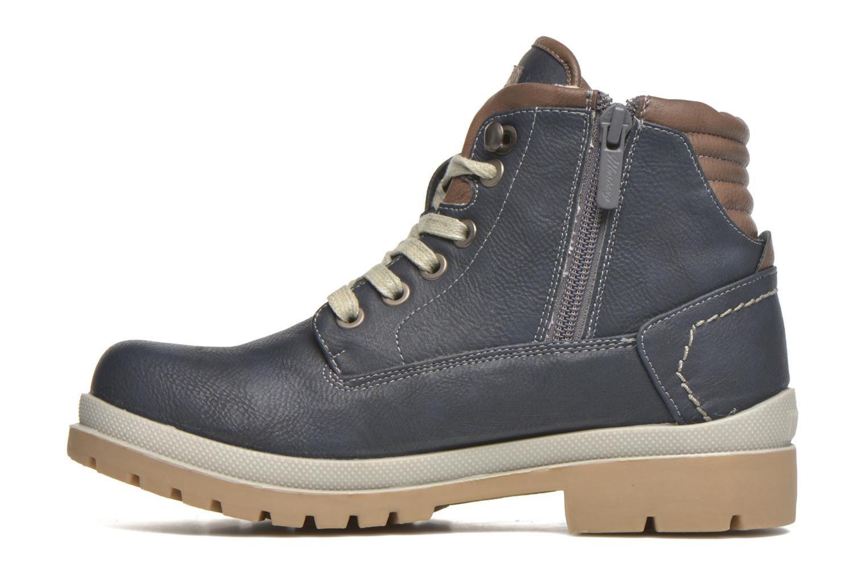 Bottines et boots Mustang shoes Hanne Bleu vue face