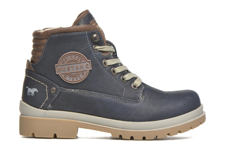 Bottines et boots Mustang shoes Hanne Bleu vue derrière
