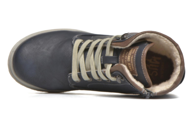 Bottines et boots Mustang shoes Hanne Bleu vue gauche