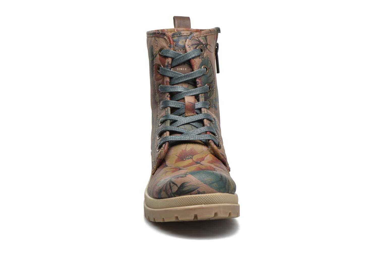 Boots en enkellaarsjes Mustang shoes Doris Beige model