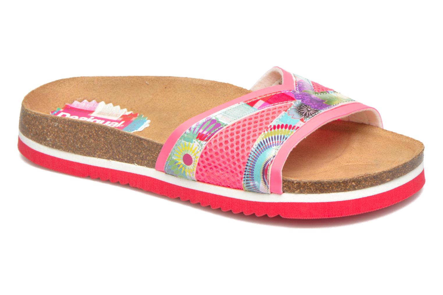 Mules & clogs Desigual SHOES_NORA 2 Pink detailed view/ Pair view