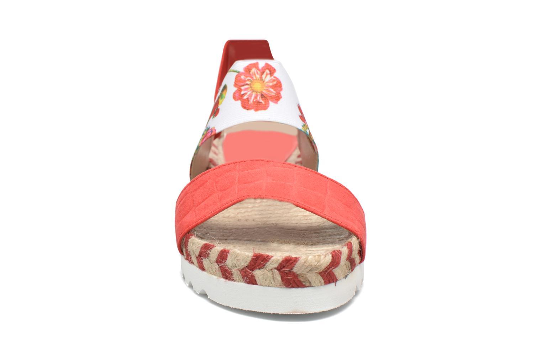 Sandales et nu-pieds Desigual SHOES_FORMENTERA 6 Rouge vue portées chaussures