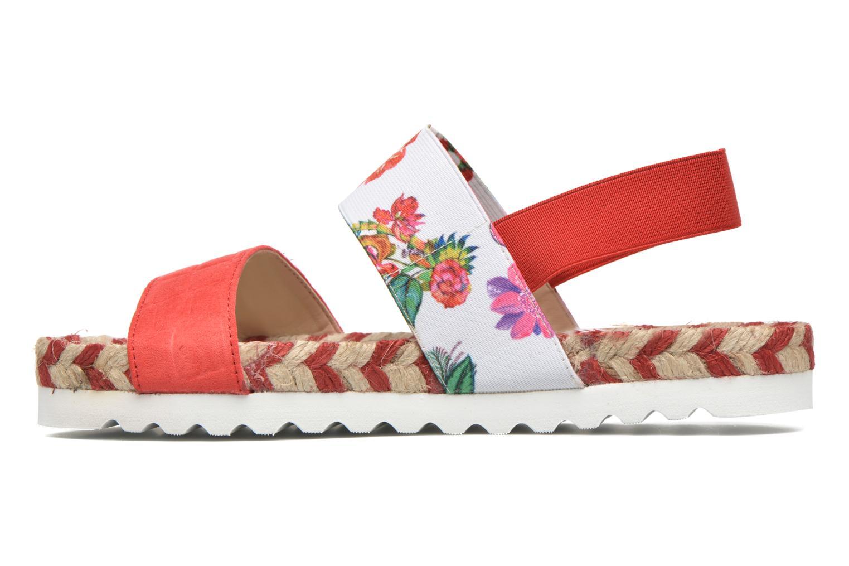 Sandales et nu-pieds Desigual SHOES_FORMENTERA 6 Rouge vue face
