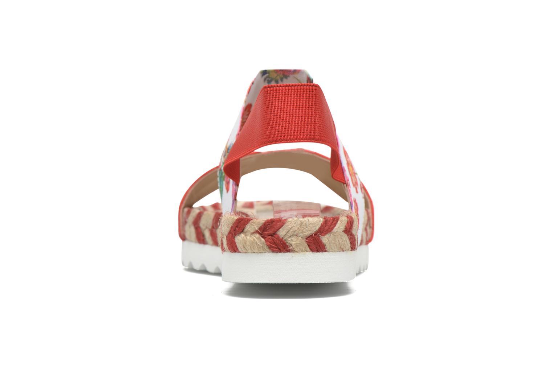 Sandales et nu-pieds Desigual SHOES_FORMENTERA 6 Rouge vue droite