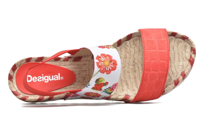Sandales et nu-pieds Desigual SHOES_FORMENTERA 6 Rouge vue gauche