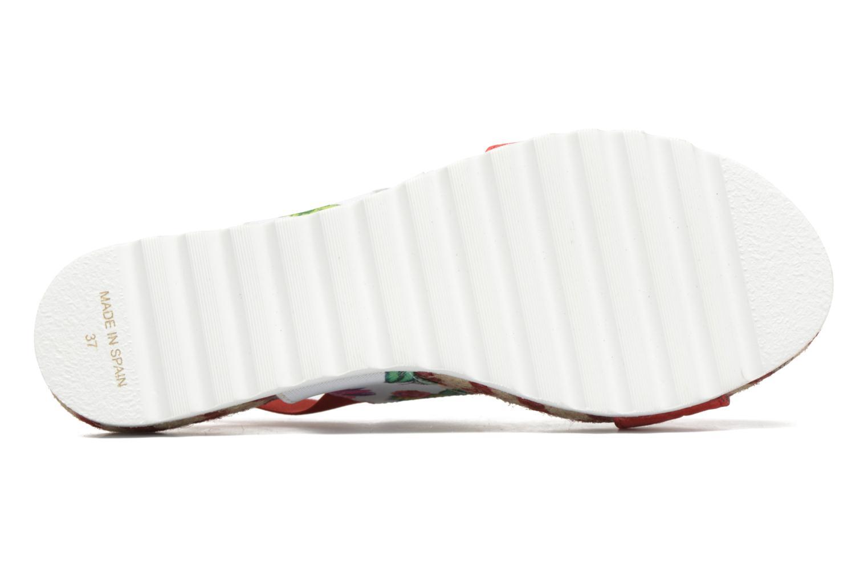 Sandales et nu-pieds Desigual SHOES_FORMENTERA 6 Rouge vue haut