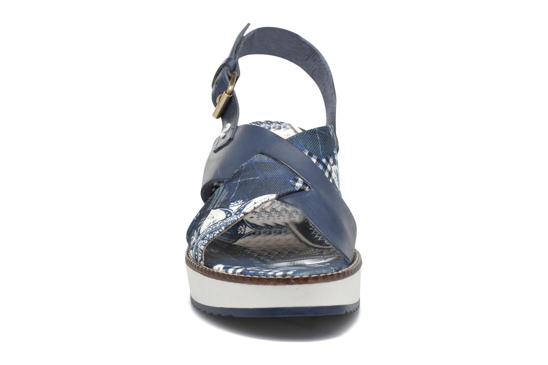 Sandales et nu-pieds Desigual SHOES_ALEXIA 5 Bleu vue portées chaussures