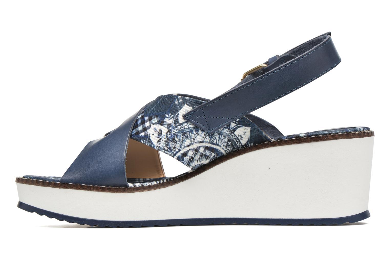 Sandales et nu-pieds Desigual SHOES_ALEXIA 5 Bleu vue face