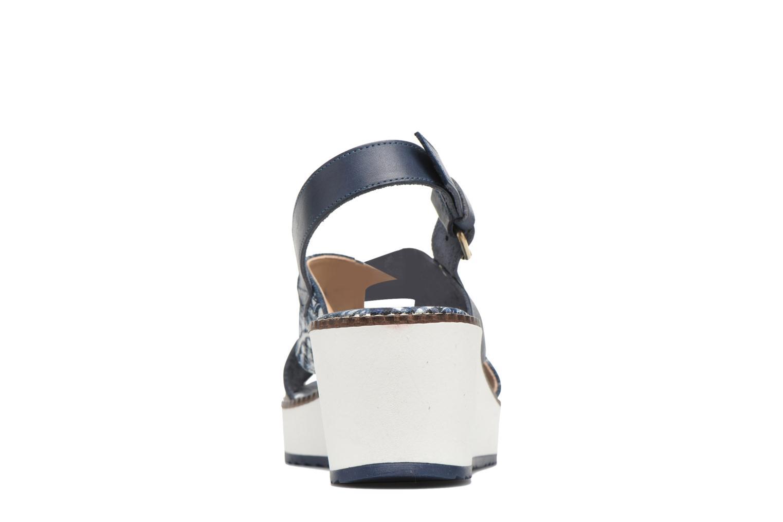 Sandales et nu-pieds Desigual SHOES_ALEXIA 5 Bleu vue droite