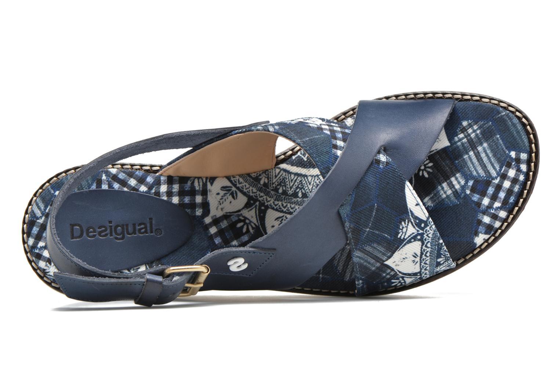 Sandales et nu-pieds Desigual SHOES_ALEXIA 5 Bleu vue gauche