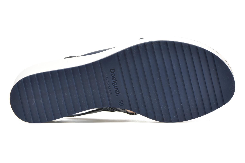 Sandales et nu-pieds Desigual SHOES_ALEXIA 5 Bleu vue haut