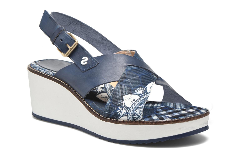 Sandales et nu-pieds Desigual SHOES_ALEXIA 5 Bleu vue détail/paire