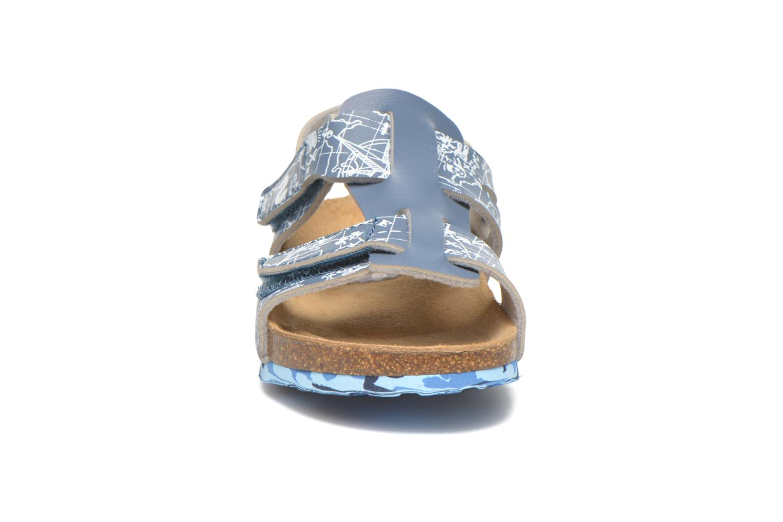 Sandalias Desigual SHOES_BIO 8 Gris vista del modelo