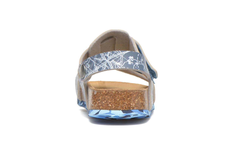 Sandales et nu-pieds Desigual SHOES_BIO 8 Gris vue droite