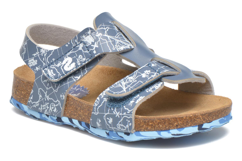 Sandales et nu-pieds Desigual SHOES_BIO 8 Gris vue détail/paire