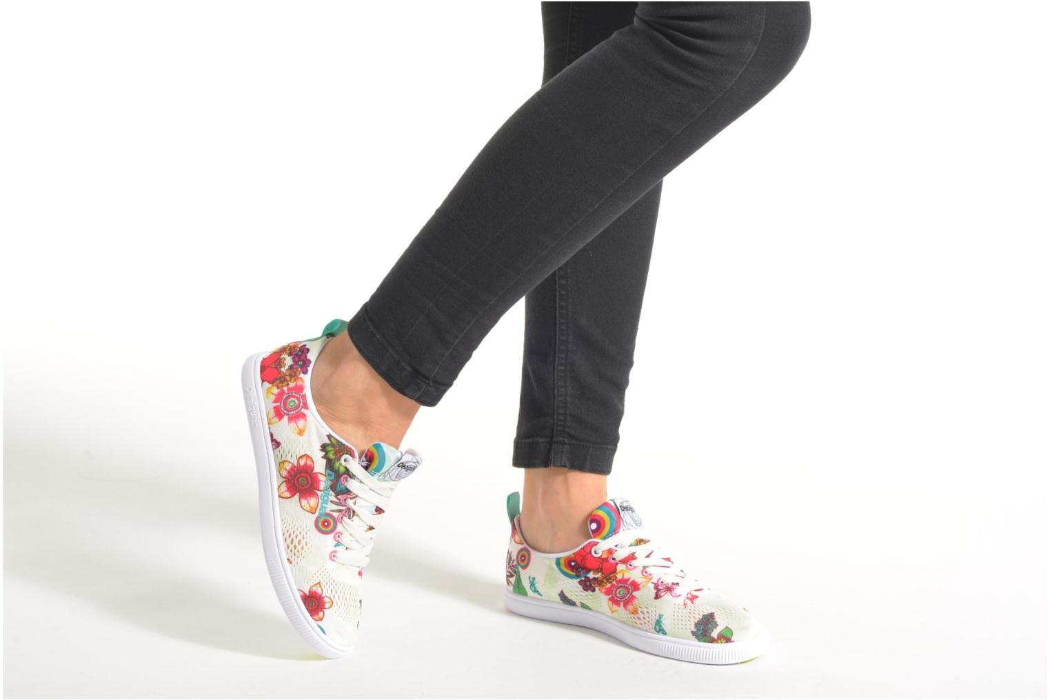 Trainers Desigual SHOES_FUN EVA T Green view from underneath / model view
