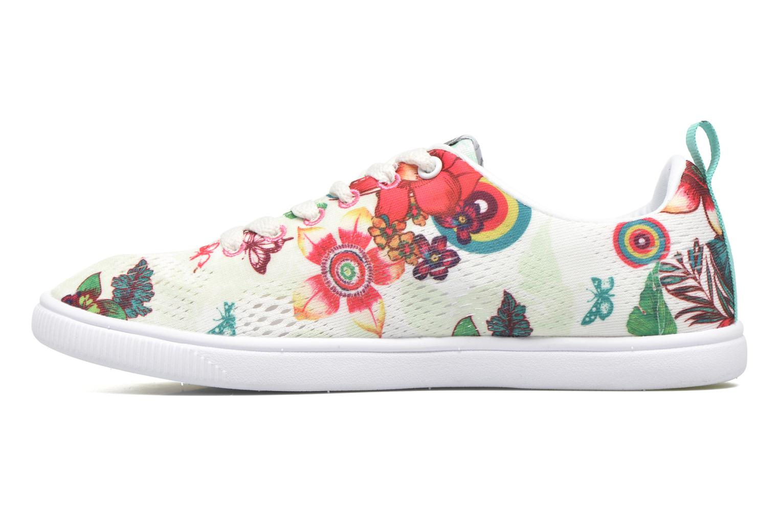 Trainers Desigual SHOES_FUN EVA T Green front view