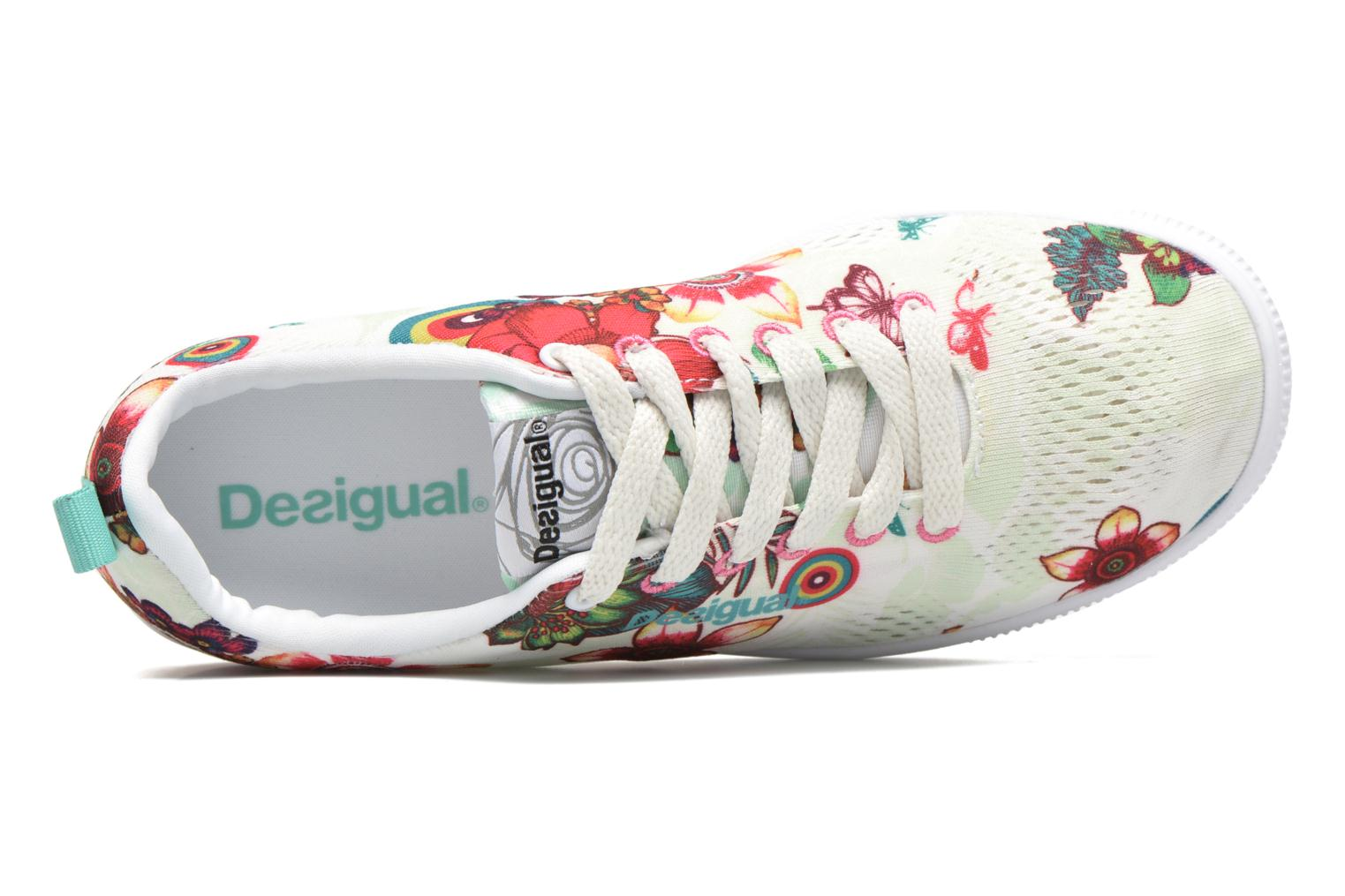 Trainers Desigual SHOES_FUN EVA T Green view from the left