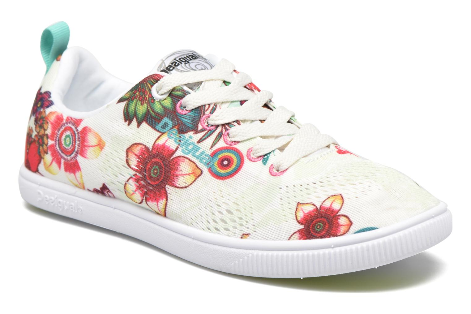 Trainers Desigual SHOES_FUN EVA T Green detailed view/ Pair view