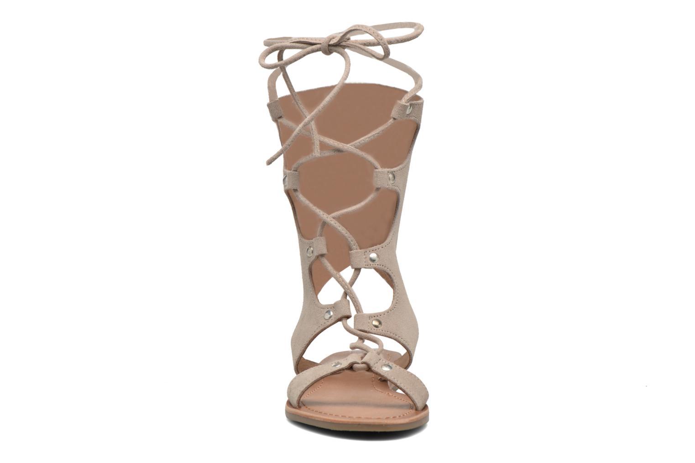Sandals Les Tropéziennes par M Belarbi Baktal Beige model view