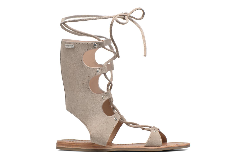 Sandals Les Tropéziennes par M Belarbi Baktal Beige back view