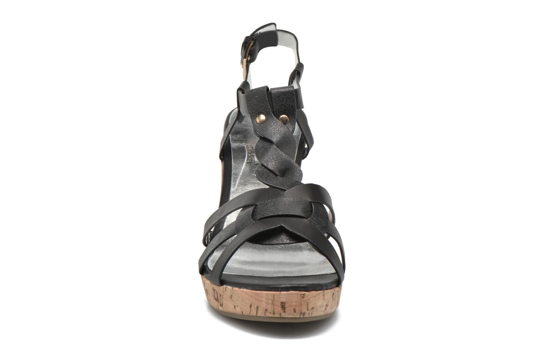 Sandales et nu-pieds Initiale Paris Reglisse Noir vue portées chaussures