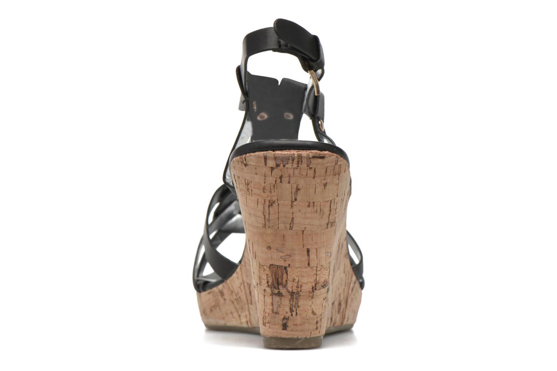 Sandales et nu-pieds Initiale Paris Reglisse Noir vue droite