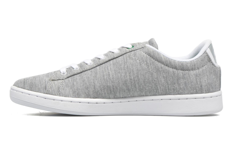 Sneaker Lacoste Carnaby EVO 116 2 grau ansicht von vorne
