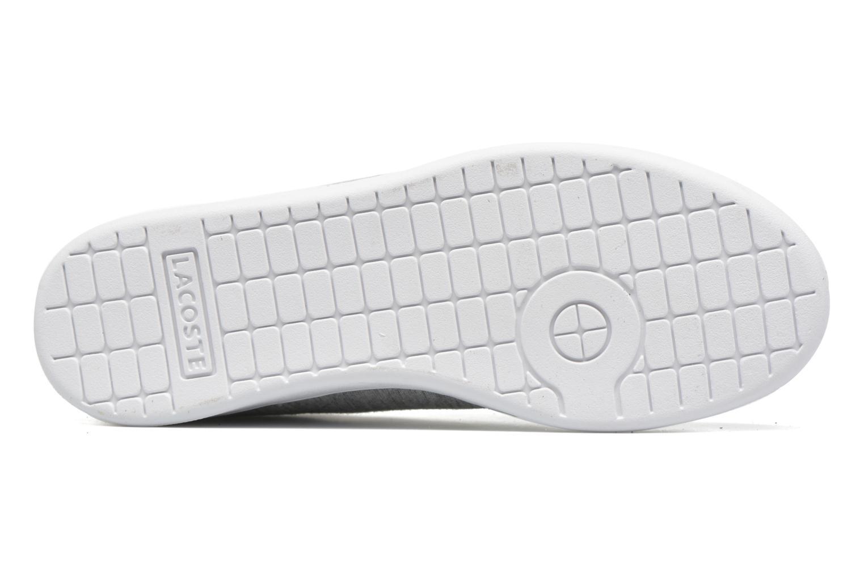 Sneaker Lacoste Carnaby EVO 116 2 grau ansicht von oben