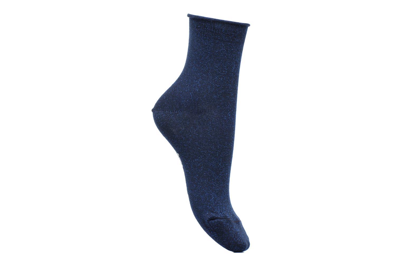 Chaussettes lurex Femme Coton / Lurex Bleu Lurex