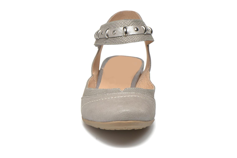 Escarpins Sweet Diberty Gris vue portées chaussures