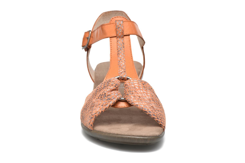 Sandales et nu-pieds Sweet Zoumba Orange vue portées chaussures